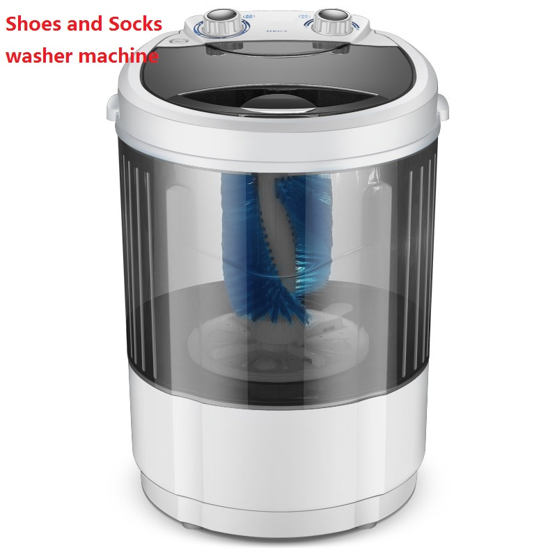 4.5kg Portable Shoe Washer Machine Small Household Lazy People Brush Shoes Washing Shoes UV Bacteriostasis Washing Machine Mini