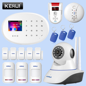 Image 2 - KERUI Outdoor Solar Flash Alarm WIFI Camera GSM Security Alarm System Suite Wireless Home Application Control Security System