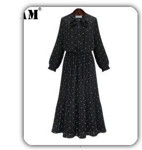[EAM] black plaid big size Knitting Cardigan Sweater Loose Fit V-Neck Long Sleeve Women New Fashion Autumn Winter 2019 1K356 44