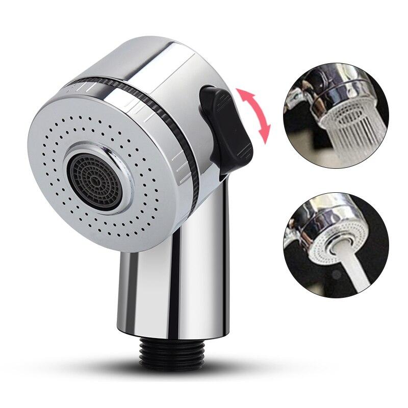 Wasserhahn Dusche Kopf Spray Set, Wasserhahn Extender Handheld Dusche Multifunktions Bad Rinser Haar Waschen Kanalisation Waschbecken Stecker