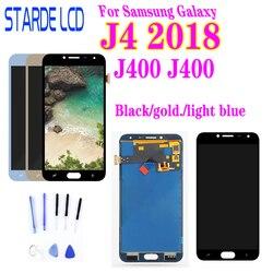 Para SM-J400M/DS digitalizador táctil LCD para Samsung Galaxy J4 2018 J400 j400F pantalla LCD J400F/DS reemplazo de pantalla de visualización
