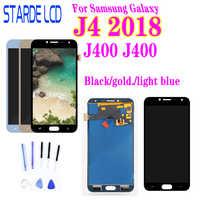 Para SM-J400M/ds lcd digitador da tela de toque para samsung galaxy j4 2018 j400 j400f display lcd substituição da tela