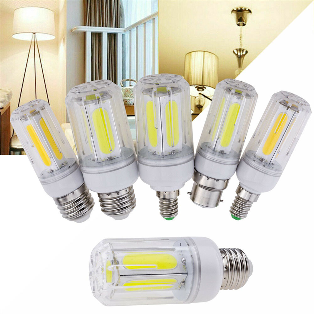 <font><b>LED</b></font> COB Corn Light Bulb E26 E12 E26 E14 B22 <font><b>12W</b></font> 16W Bright Lamp For Home RD1002 For Home <font><b>LED</b></font> Chandelier Decoration Ampoule YZ image