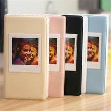64 bolsos álbum de livro de fotos de armazenamento para fujifilm instax quadrado sq10 câmera SP-3 impressora filme fotos papel rosa preto amarelo azul