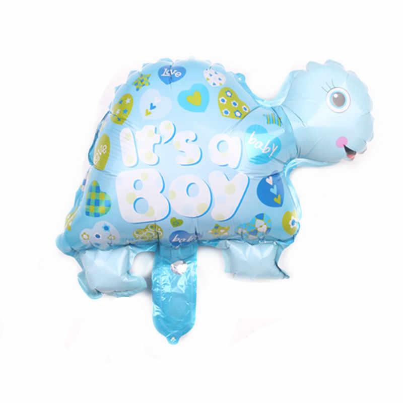 Mini niño, niña, globos animales niños bebé globo de helio de aluminio fiesta de cumpleaños decoración pelota juguetes clásicos