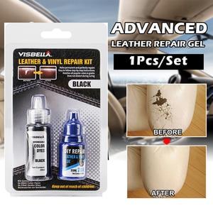 Image 2 - Leather Refurbishing Cleaner Repair Cream Advanced Leather Repair Gel Car Seat Home Leather Complementary Color Repair Paste