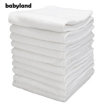 Babyland 60pcs/lot Microfiber Diaper Inserts Nappy Absorbers 3-Layers Microfiber inserts For Pocket Diapers Day and Night