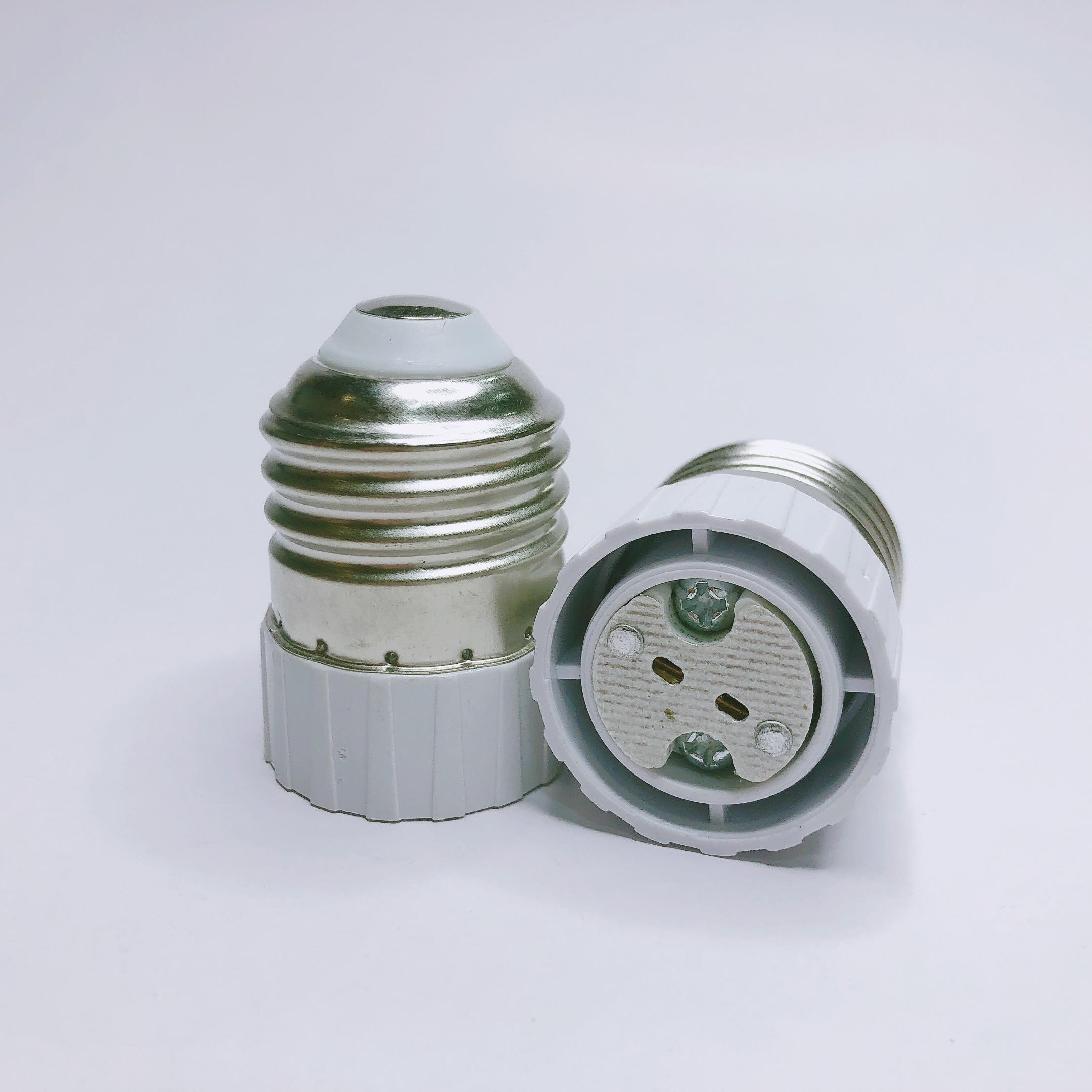 Lamp Holder Adapter Converter E27 to MR16 E27 lamp holder LED Light Lamp Adapter Screw Socket E27 to GU5.3 G4 easy to Install(China)