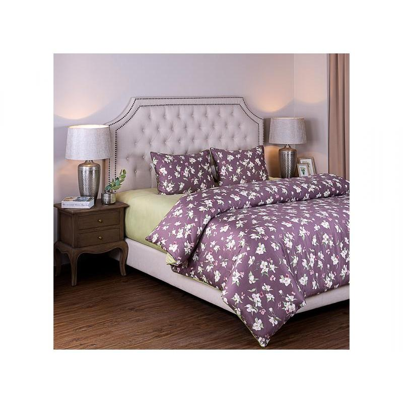 Bedding Set double-euro SANTALINO, Яблоневый color, pink/Green