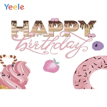 Yeele Birthday Photocall Sweeties Breaks Cakes Love Photography Backdrops Personalized Photographic Backgrounds For Photo Studio