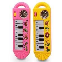 طفل البيانو لعبة الرضع طفل لعبة التنموية البلاستيك الاطفال الموسيقية البيانو في وقت مبكر لعبة تعليمية آلة موسيقية