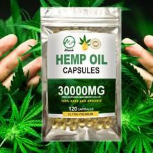 Minch najnowszy olej konopny kapsułki ulga w bólu naturalny olej CBD kapsułki miękkie żelowe 3000MG organiczny suplement diety dla lepszego snu