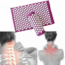 Massager Cushion Acupuncture Sets Relieve Stress Back Pain Acupressure Mat/Pillo