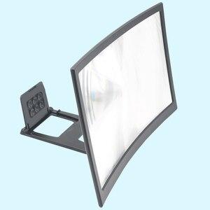 Image 2 - Voor 12Inch 3D Curve Screen Magnifier Voor Mobiele Telefoon, Hd Versterker Projector Magnifing Screen Vergroter Voor Films, video S, En Fo