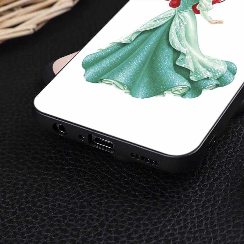 Princess Ariel Little Mermaid snow princess Luxury Soft Silicone Phone Case for  oneplus  one plus 7 pro  7 6 6t 5t