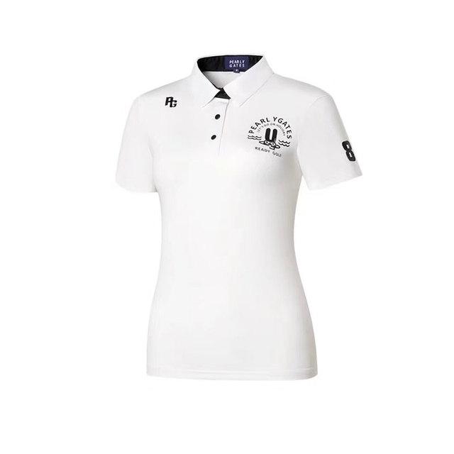 2020 new women's golf apparel PG sunmmer golf short sleeve