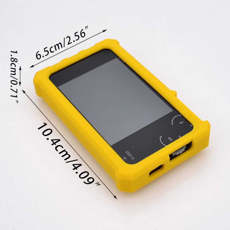 Silicone Protective Case Rubber Protection Cover Shell With Ring Stand For DS212 Mini Oscilloscope image