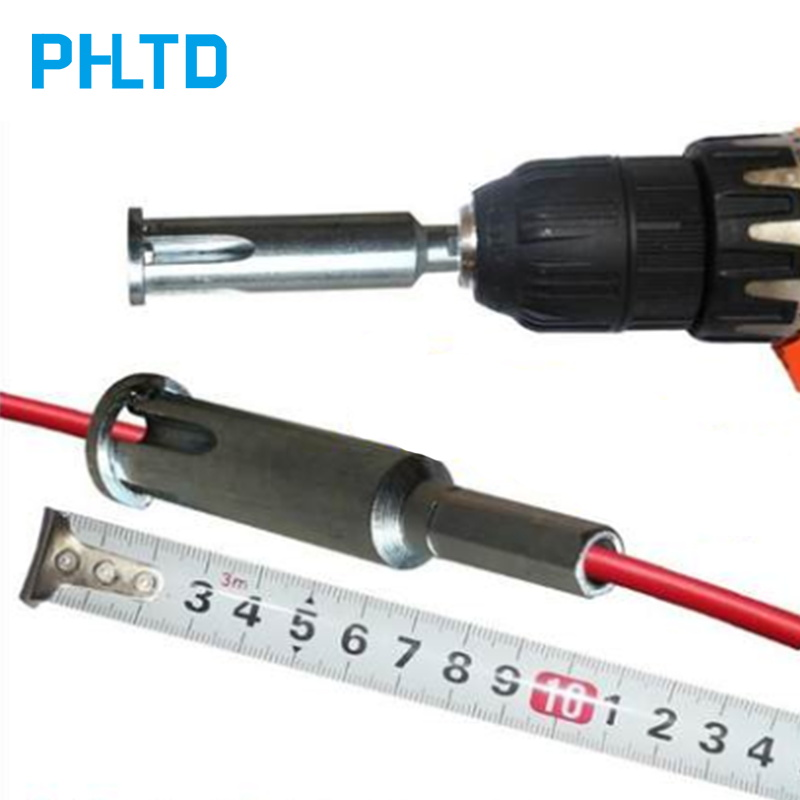 Electrician General Automatic Wire Stripper And Twisted Wire Tool Quick Automatic Stripper Line Cable Peeling Twisting Connector
