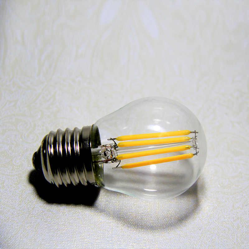 Светодиодный светильник C35 e14 2 Вт 4 Вт 6 Вт 8 Вт свеча пламени лампы e27 a60 g45 220 В Эдисона накаливания светодиодные лампы