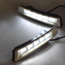 ECAHAYAKU 1 Pair Car LED DRL Daytime Running Light for Toyota Prado J150 2010-2013 Pre-facelift Land Cruiser 2700/4000 DC12V(China)