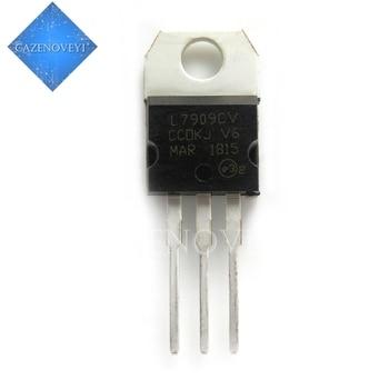 10pcs/lot 7909 L7909 L7909CV TO-220 9V / 1.5A three-terminal regulator new original In Stock 10pcs lot mur2060ctr 20a 600v to 220 new original