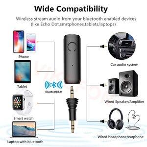Image 5 - Bluetooth Receiver APTX LL 3.5mm AUX Jack RCA Wireless Adapter & Mic Handsfree Call Car Transmitter Bluetooth 5.0 Audio Receiver