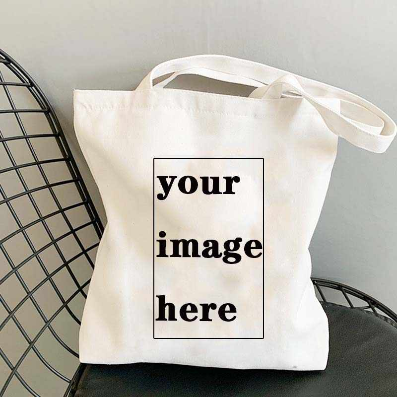 to customize tote bag white model travel to..