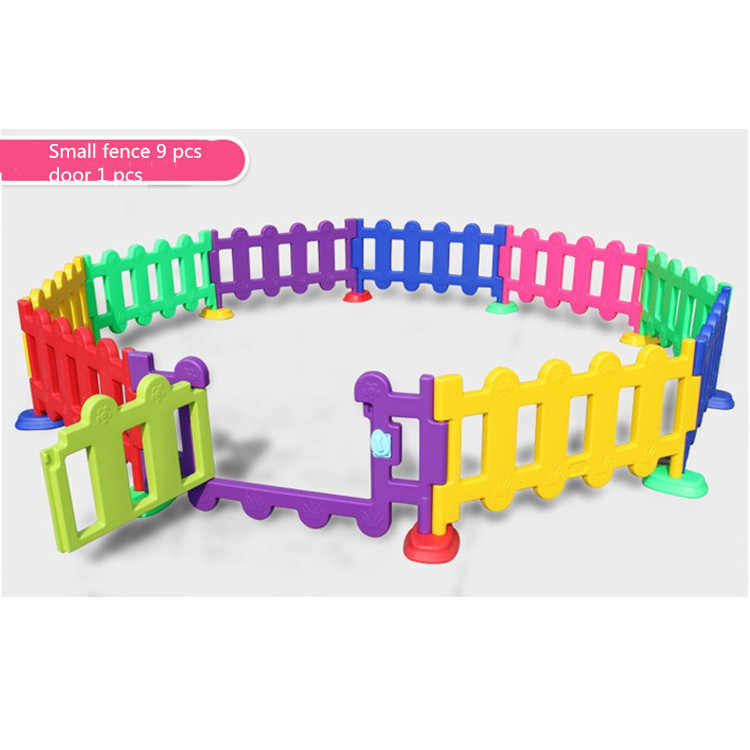 Valla de juego para niños barrera de guardería para bebés juego de interior  en casa juguete para bebés valla de plástico para jardín al aire libre