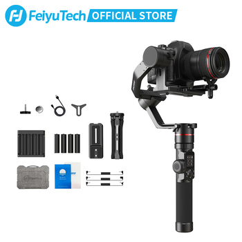 FeiyuTech AK2000 3-Axis DSLR Camera Stabilizer Tripod Follow Focus for Sony Canon 5D Panasonic GH5/GH5S Nikon D850 2.8KG Payload feiyutech a1000 3 axis gimbal handheld stabilizer for nikon sony canon mirrorless camera gopro action cam smartphone 1 7kg load