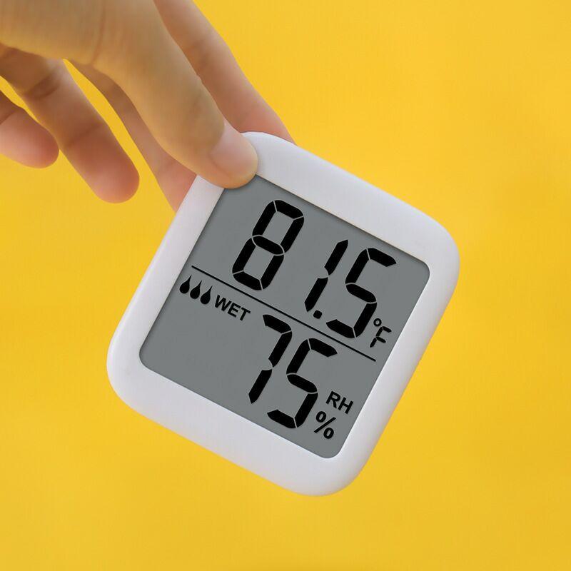 Цифровой термометр гигрометр датчик влажности Max комнатный термометр гигрометр Измеритель влажности Температура и влажности монитор