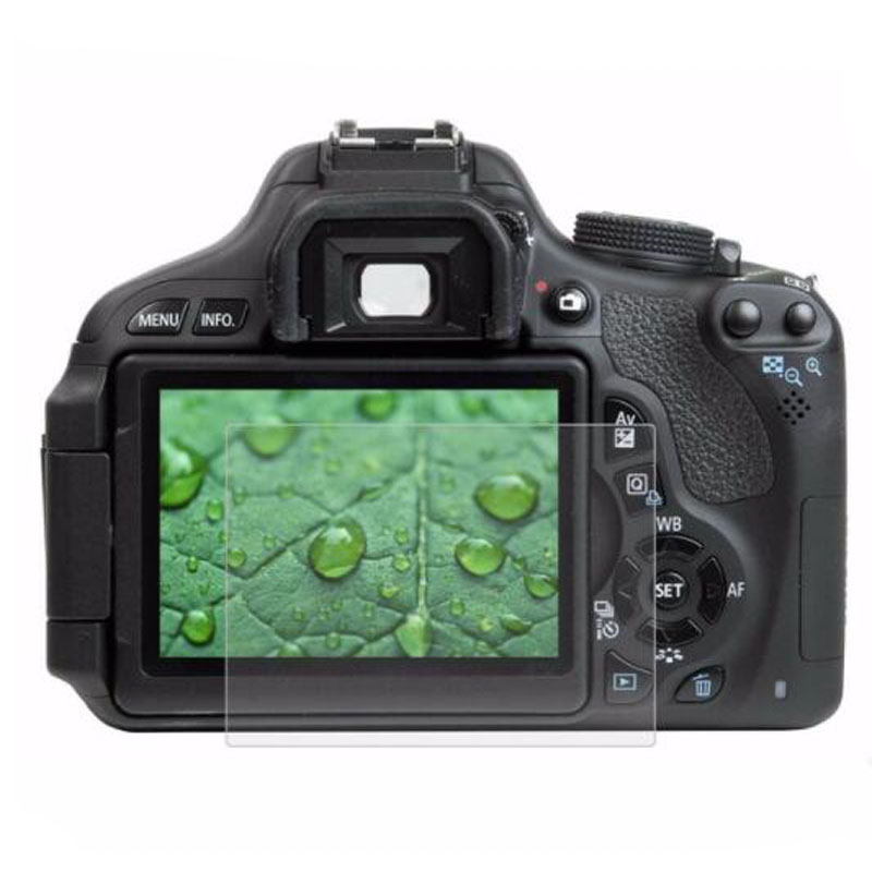 3x Canon EOS 90D Protector de Pantalla de Vidrio Templado Film De Protección