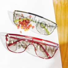 2020 print stylish letter sunglasses fashion designer unisex