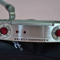 golf putter NEWPORT 2 left hand butterfly putter with steel shaft and headcover golf clubs free shipping
