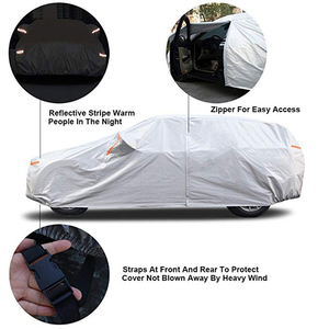 Image 3 - Kayme 210T Waterproof Full Car Covers Outdoor sun uv protection, dust rain snow protective, Universal Fit suv sedan hatchback