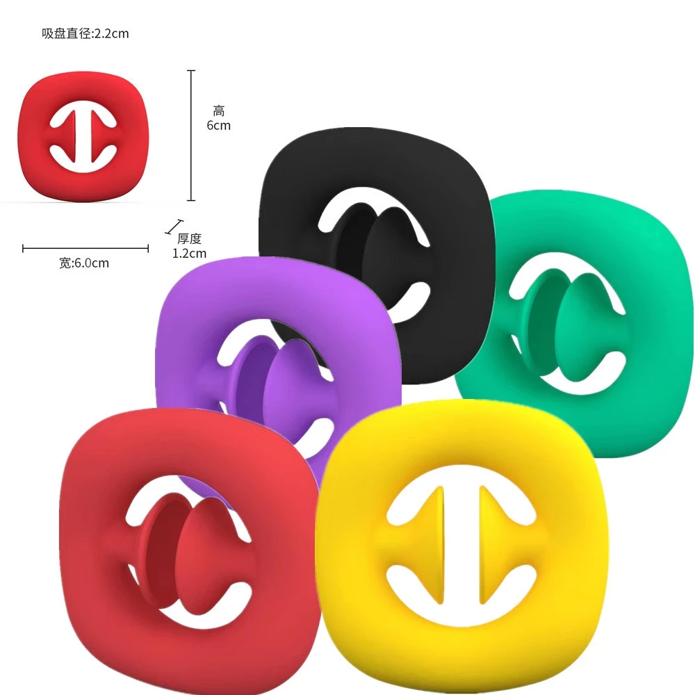 SNAPPERZ Suction Cup Decompression Grip Ball Workout Fitness Training Arm Power Hand Grips Strengthener Exerciser Equipment