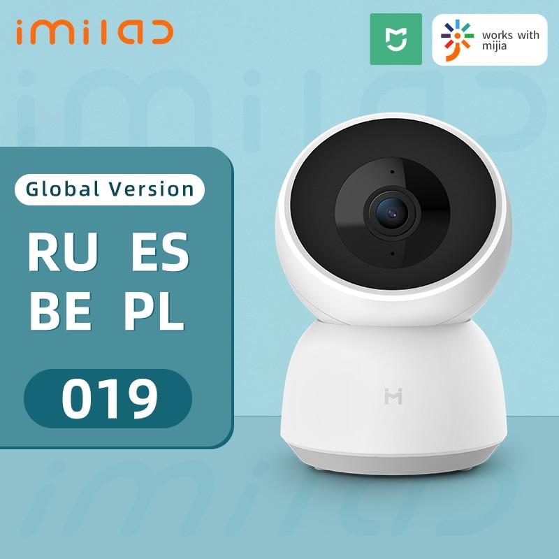 IMILAB 019 caméra de sécurité à domicile A1 WiFi 1296P HD caméra IP caméra de Vision nocturne intérieure caméra vidéo 360 ° caméra de Surveillance CCTV