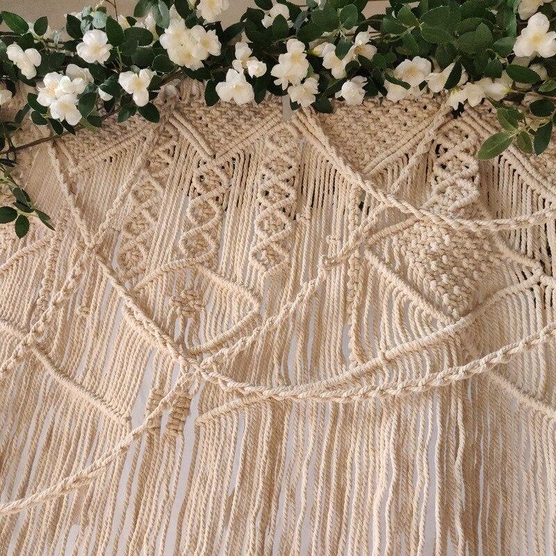 Hand woven wandteppich hochzeit szene decoration180 * 200cm Böhmischen vorhang hause dekoration wand hängende tapestry - 4