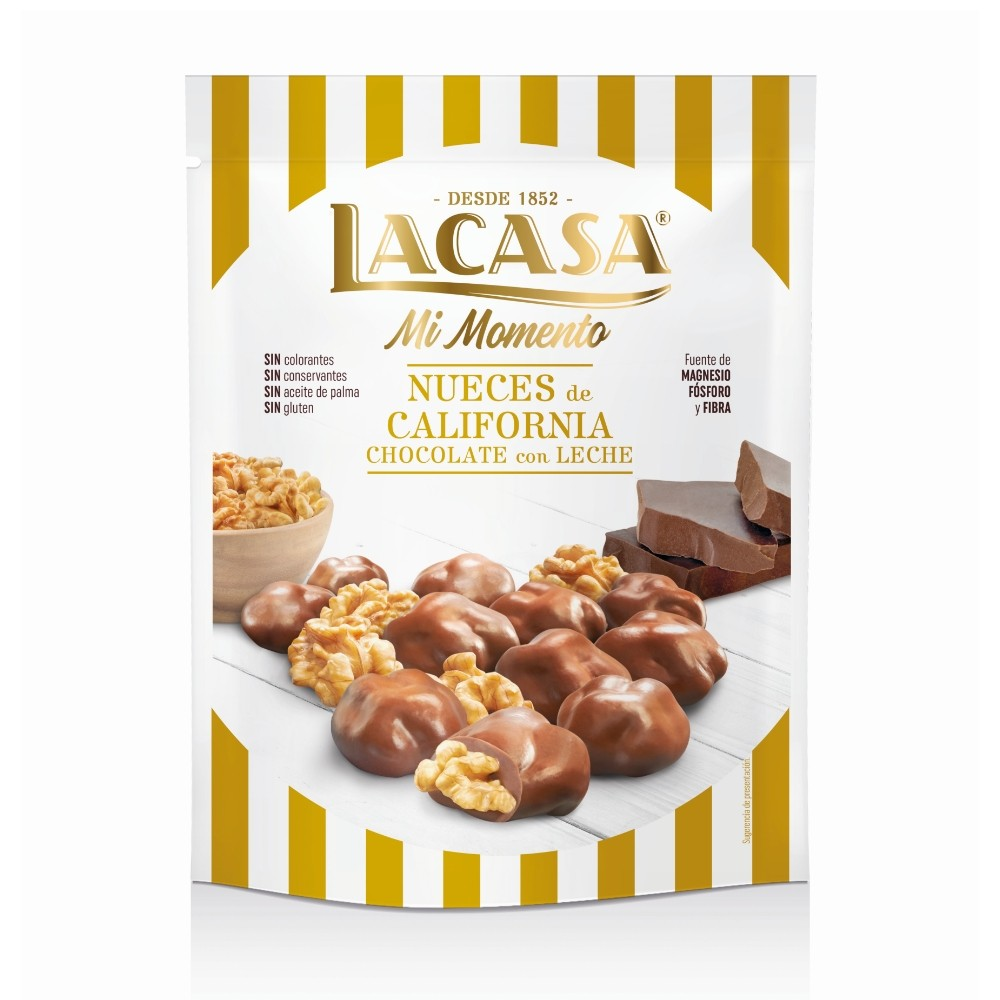 Lacase my moment nuts Chocolate milk · 115g.