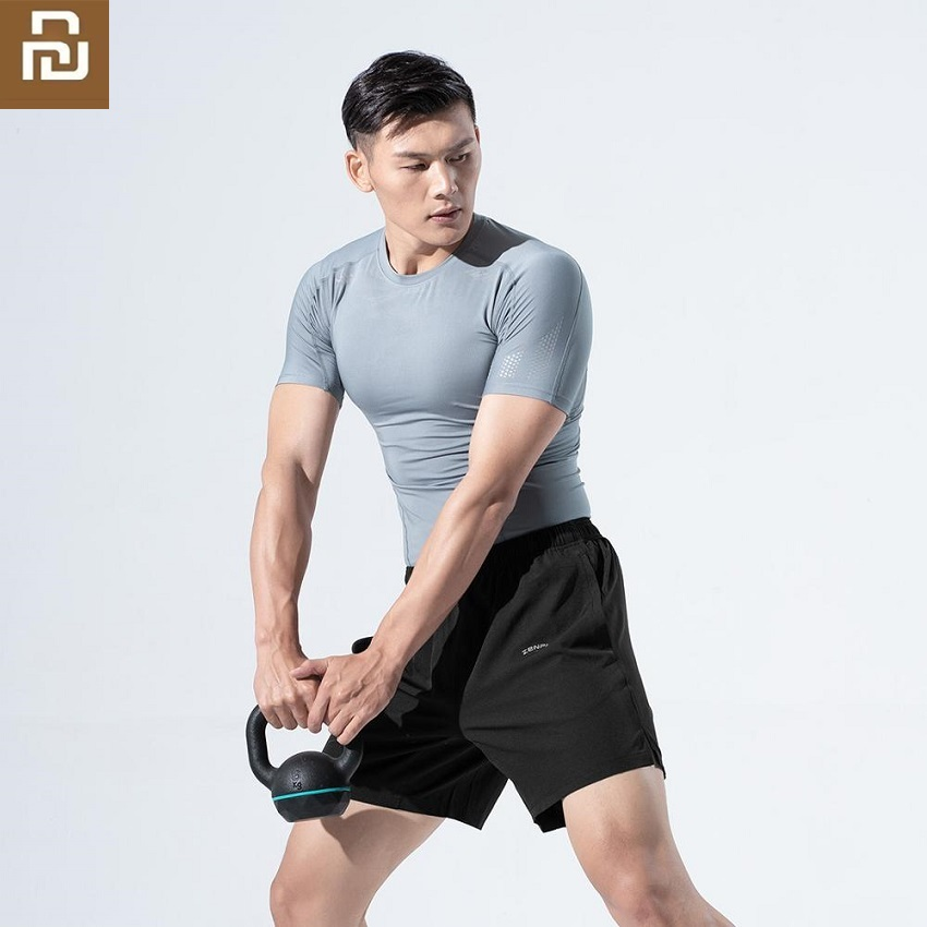 Youpin Zenph Man Breathable Quick Drying Sports Shorts Antistatic Reflective Fitness Running Male Sweatpants Short Pants