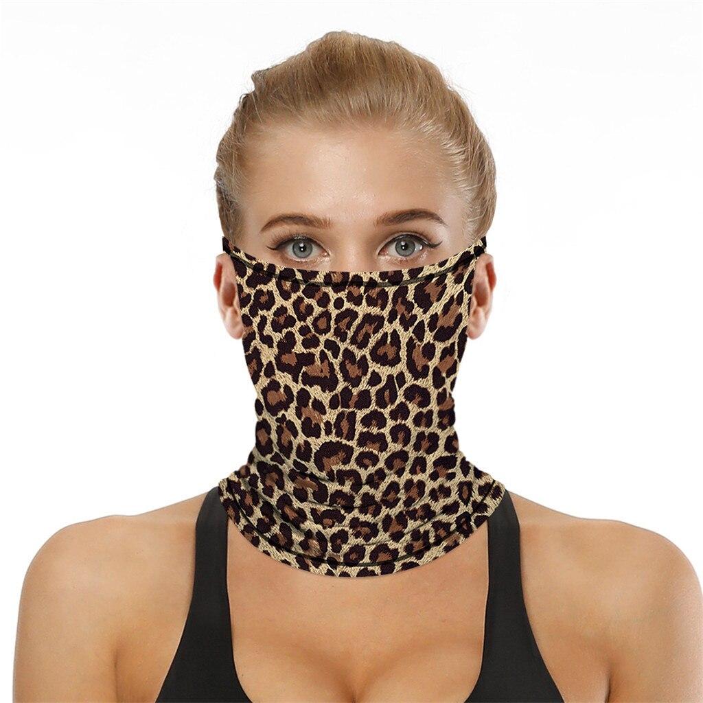Stylish Printed Dustproof Scarf Mask 24