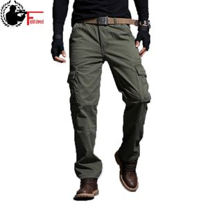 Image 1 - Mens Pants Thickening Trouser Velvet Winter Warm Jogger Male Military Style Army Casual Fleece Lined Pants Working Coverall Work