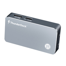Charger Usb-C3.1-Dock Thunderdock NVME JEYI for SSD TYPEC3.1 PD M2 PCIE DP8K Jhl7440-Storage