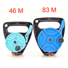 Handle-Stopper Reels Spool Scuba-Diving-Reel Retractable Water Finger-Line Snorkeling