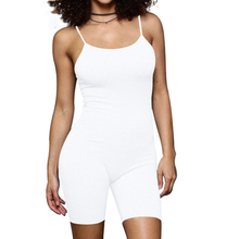 Vintage Bodycon Bandage Jumpsuits Femme Overalls Sexy Spaghetti Strap Sleeveless Hollow Out Slim Summer Casual Wear