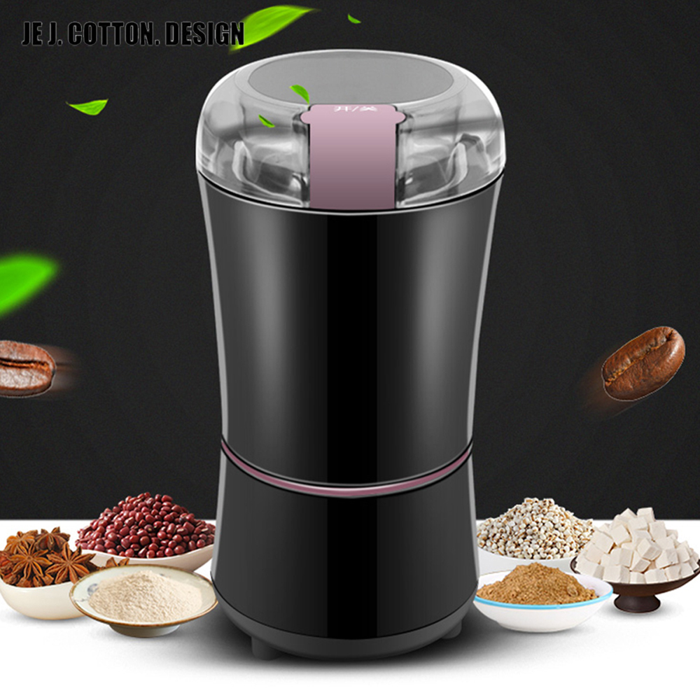 New Kitchen Electric Coffee Grinder 400W Mini Salt Pepper Grinder Powerful Spice Nuts Seeds Coffee Bean Grind Machine Electronic