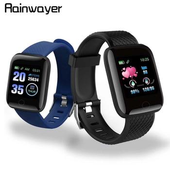 En Stock! D13 montres intelligentes 116 Plus montre de fréquence cardiaque bracelet intelligent montres de sport bracelet intelligent étanche Smartwatch Android A2 1