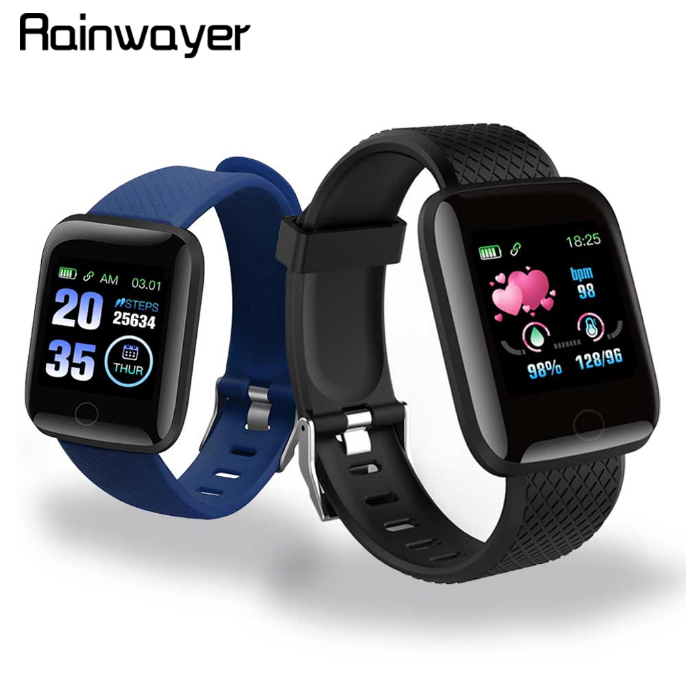 Còn Hàng!!! D13 Đồng Hồ Thông Minh 116 Plus Nhịp Tim Tay Thông Minh Đồng Hồ Thể Thao Thông Minh Dây Chống Thấm Nước Đồng Hồ Thông Minh Smartwatch Android A2 title=