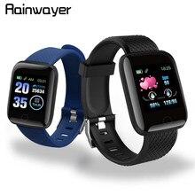 ¡En Stock! D13-reloj inteligente deportivo resistente al agua, pulsera con control del ritmo cardíaco, Android A2, 116 Plus