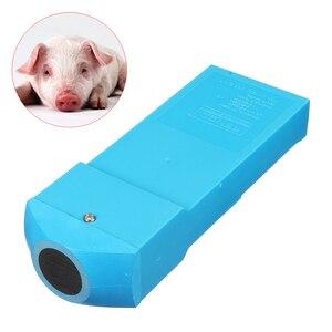 158x57x30 мм портативный ультразвуковой детектор беременности тест для животных свиньи Сев синий быстрый тест на беременность er инструмент маш...
