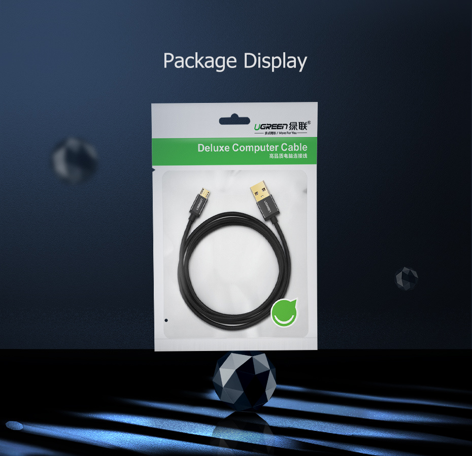 Ugreen Pakistan Micro USB Cable brandtech.pk